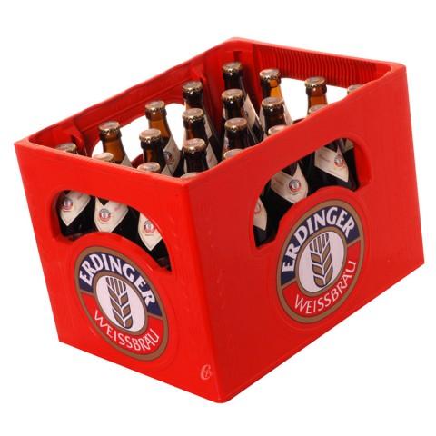 Bouteille de bière Erdinger Hefe Weiss 5.3°