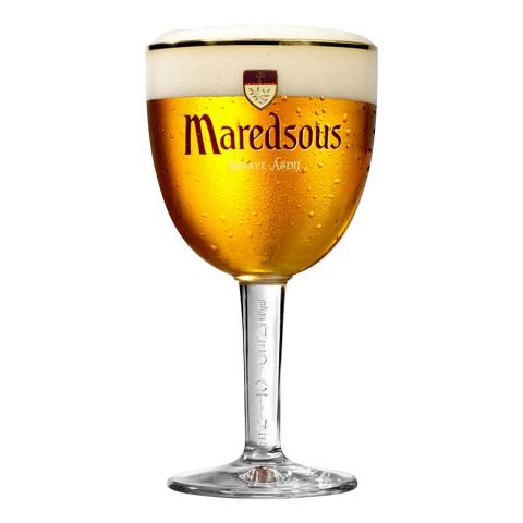 Bouteille de bière Maredsous 6°