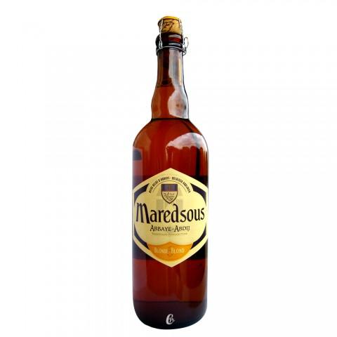 Bouteille de bière Maredsous 6° 75cl