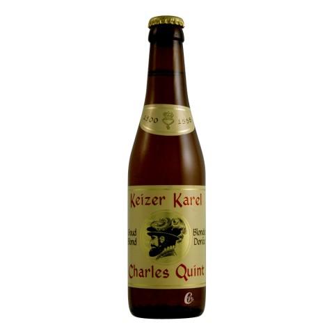 Bouteille de bière Charles Quint Blonde 8,5° (Bière)