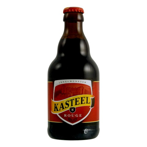 Bouteille de bière Kasteel rouge 8°