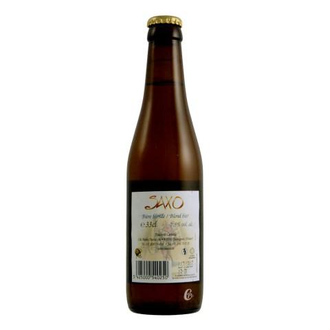 Bouteille de bière Saxo 7.5°