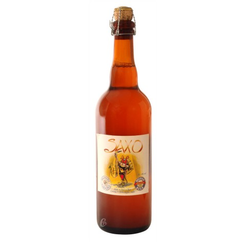 Bouteille de bière Saxo 7.2°