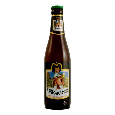 Bouteille de bière Alsacienne Blonde 33cl. 7,8°