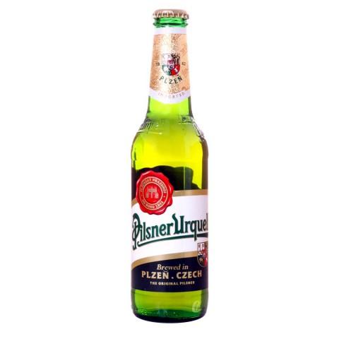 Bouteille de bière Pilsner Urquell 4.4°