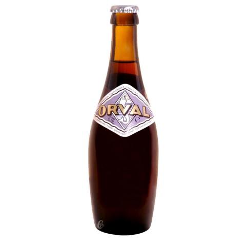 Bouteille de bière Orval 6,2°