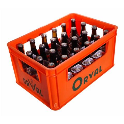 Caisse de Bouteille de bière Orval 6,2°