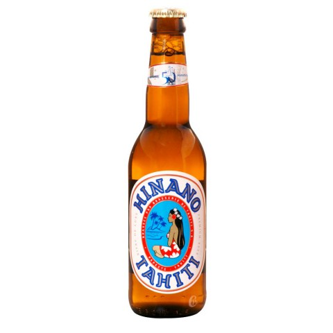 Bouteille de bière Hinano