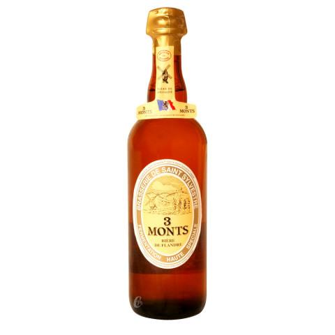 Bouteille de bière 3 Monts 8,5°