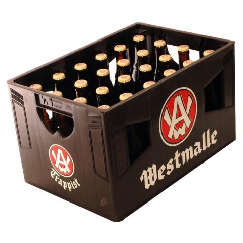 Bouteille de bière Westmalle blonde triple