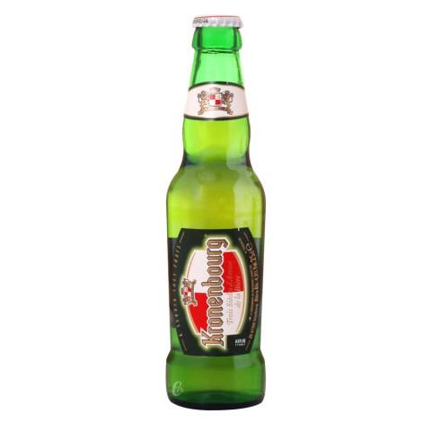 Bouteille de bière Kronenbourg