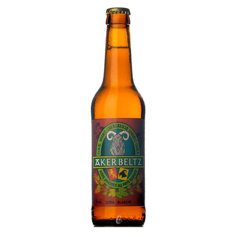 Bière Akerbeltz Blanche (4° - 33cl)