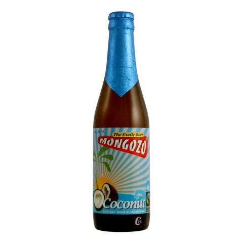 Bouteille de bière Mongozo Coco Beer 3,5° (Bière)