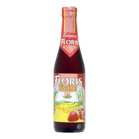 Bouteille de bière Floris Fraise 3.6° 33cl
