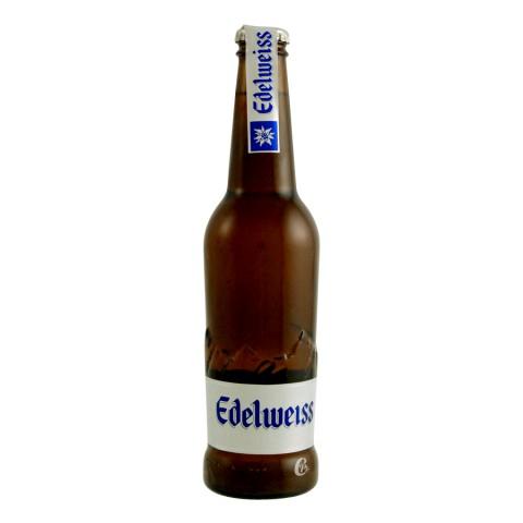 Bouteille de bière Edelweiss 33cl