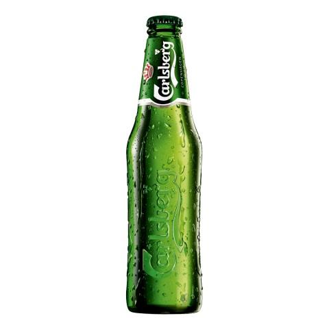 Bouteille de bière CARLSBERG CLUB