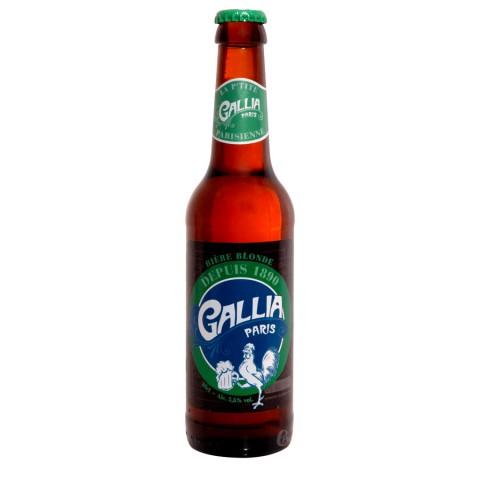 Bouteille de bière de Paris Gallia