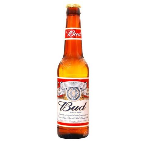 Bouteille de bière Bud Americaine