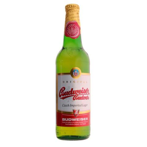 Bouteille de bière Budvar Budweiser (Bière)
