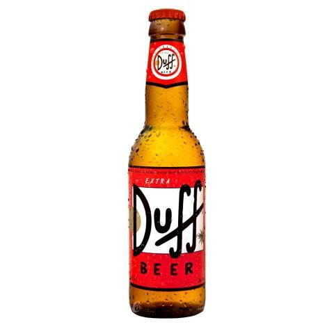 Bouteille de bière Duff beer 33cl 5°