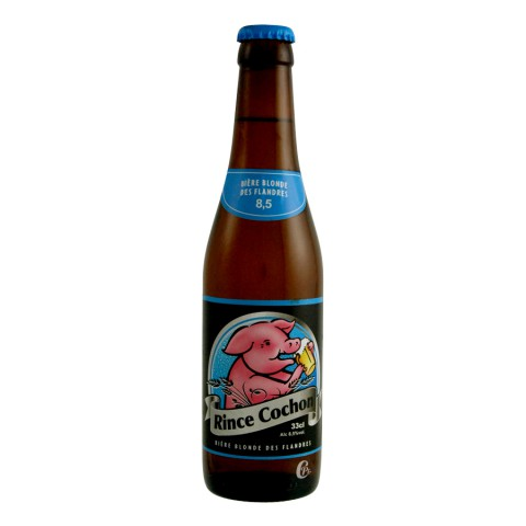 Bouteille de bière Rince Cochon 8.5°
