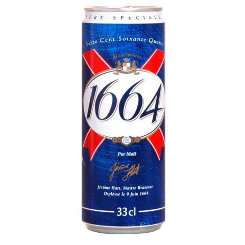 Bouteille de bière Boite 1664