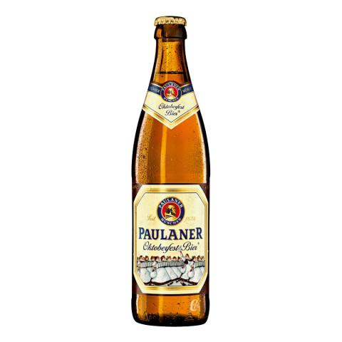Bouteille de bière PAULANER OKTOBERFEST 6° 50CL