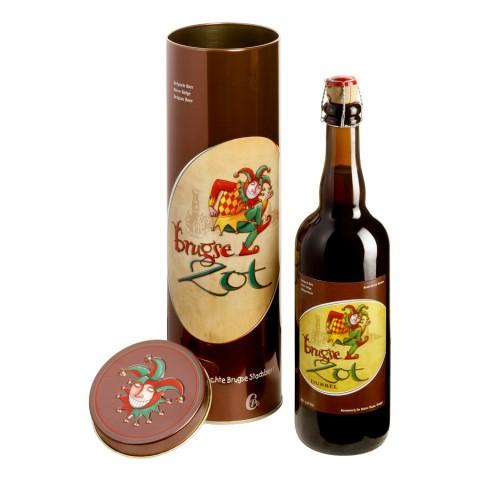 Bouteille de bière Brugse Zot brune