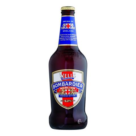 Bouteille de bière BOMBARDIER ALE 4.7° 50cl