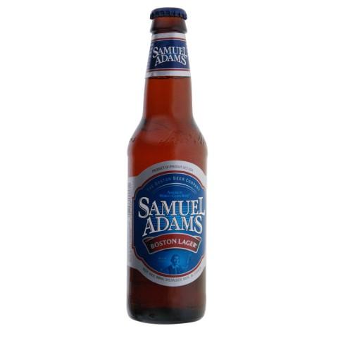 Bouteille de bière SAMUEL ADAMS AMBREE 4.8°