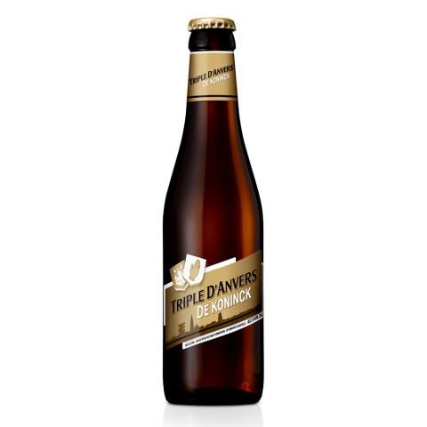 Bouteille de bière TRIPLE D ANVERS AMBREE 8°