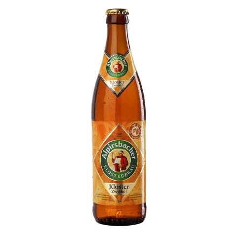 Bouteille de bière ALPIRSBACHER KLOSTER ZWICKEL 5.4°