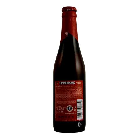 Bière Timmermans Fraise