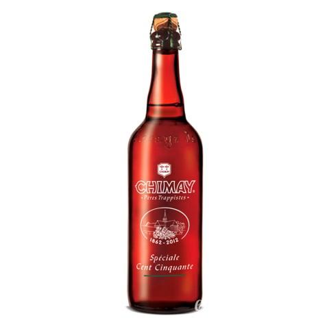 Bouteille de bière CHIMAY SPECIALE 150ANS10°