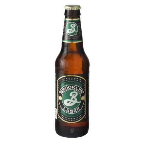 Bouteille de bière BROOKLYN LAGER 5.2°