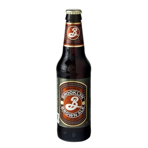 Bouteille de bière BROOKLYN BROWN 5.6°