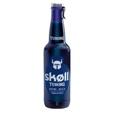 Bouteille de bière SKOLL TUBORG 6°