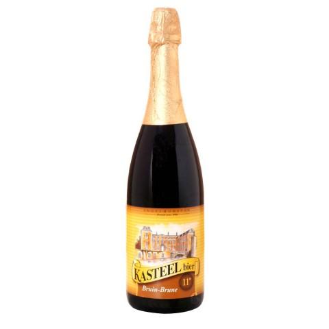 Bouteille de bière Kasteel brune Chateau 11°