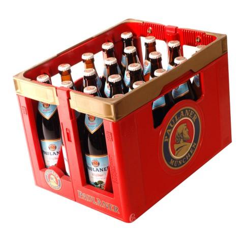 Bouteille de bière Paulaner Klaar weiss Bier