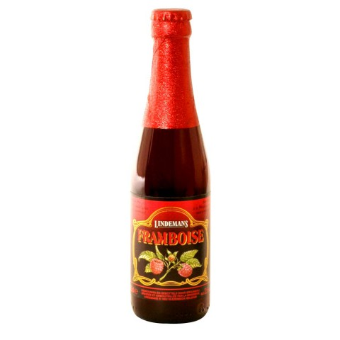 Bouteille de bière Framboise Lindemans 2.5°