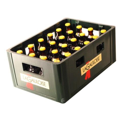 Bouteille de bière Gauloise blonde 6.1°