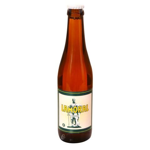 Bouteille de bière Lamoral Triple 8°