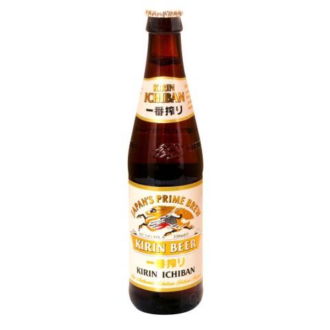 Bouteille de bière Kirin du Japon