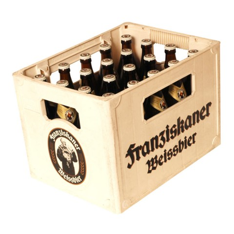 Bouteille de bière Franziskaner Hefe