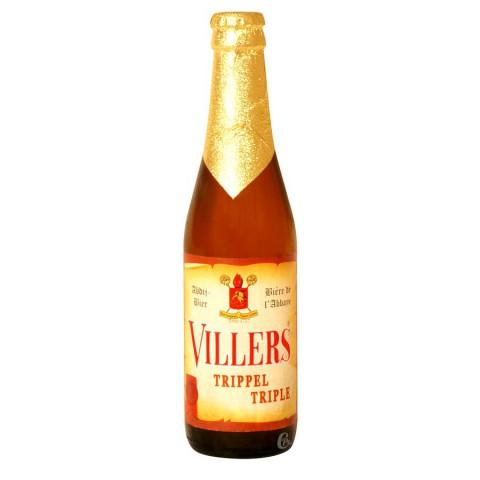 Bouteille de bière Villers Triple 8.5°