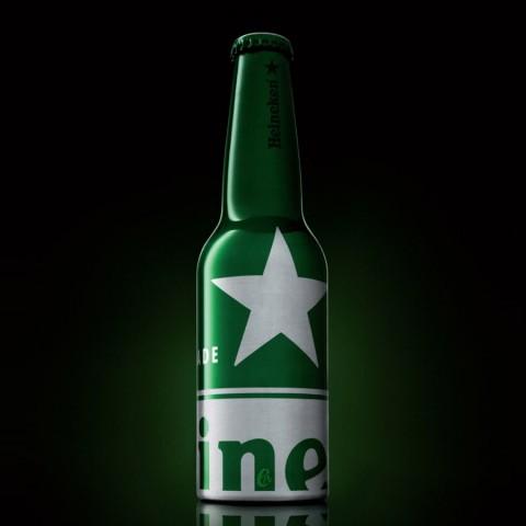 Bouteille de bière Heineken Aluminium - Edition STR (5° - 33cl)