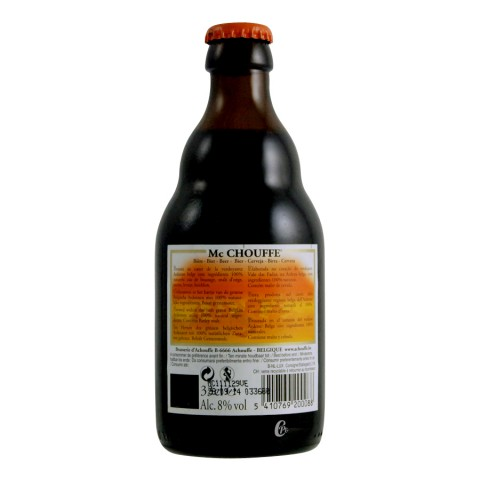 Bouteille de bière Mac Chouffe 8° 33 cl