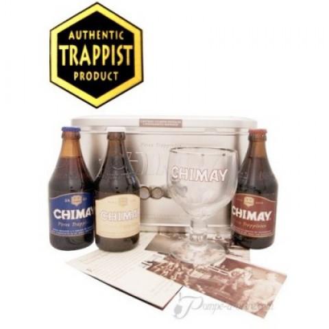 Coffret bière CHIMAY Family 3x33CL METAL