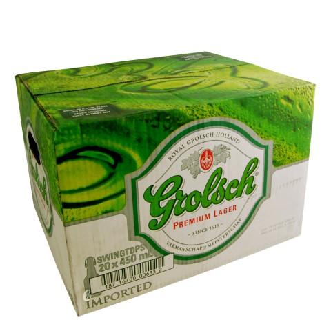 Carton de bière Grolsch 5°
