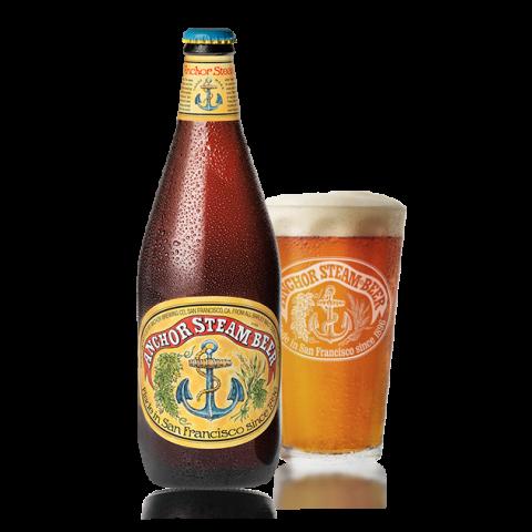 Bouteille de bière ANCHOR STEAM BEER 4.8°